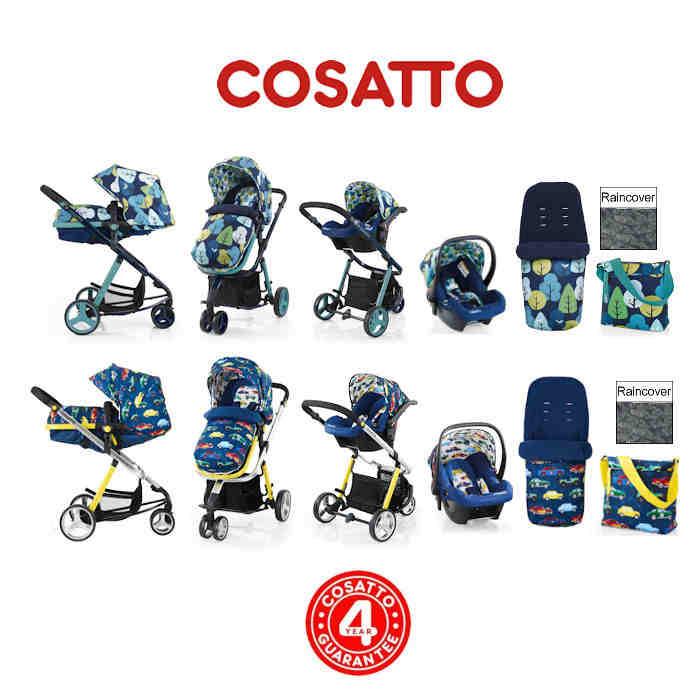 Cosatto Woop Travel System - Nightbird- Rev Up
