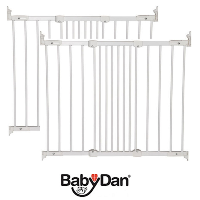 Babydan Super Flexi Fit Extending Safety Gate (Pack of 2)