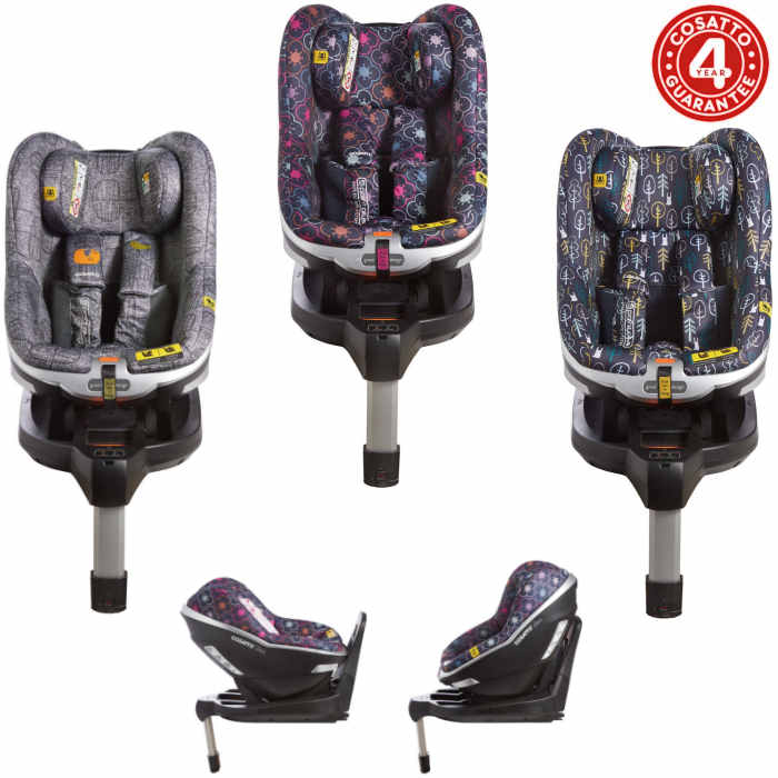 Cosatto Den i-Size Group 0+ / 1 Isofix Car Seat with Base