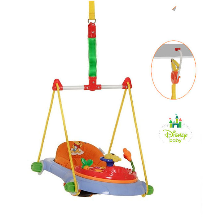Hauck Disney Jump Deluxe Bouncer - Winnie The Pooh