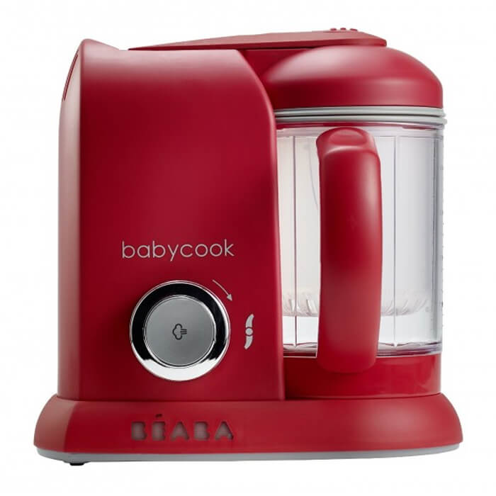 Beaba Babycook 4 in 1 Babyfood Maker - Red