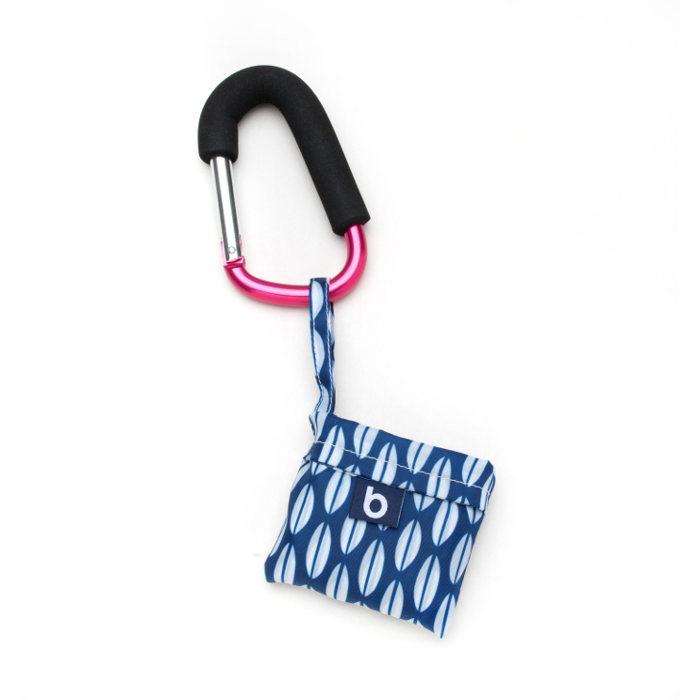 Pink folded bag