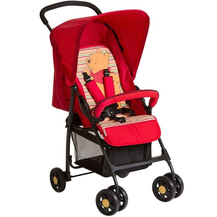 Hauck Winnie the Pooh Disney Sport Stroller (Pooh Spring Brights Red)