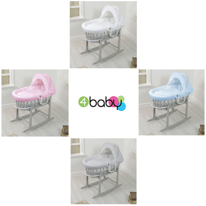 4baby Wicker  Rocking Stand 4   Dimple