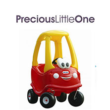 PLO Little Trikes Cozy Coupe