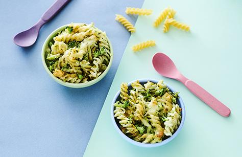Cheese broccoli pasta