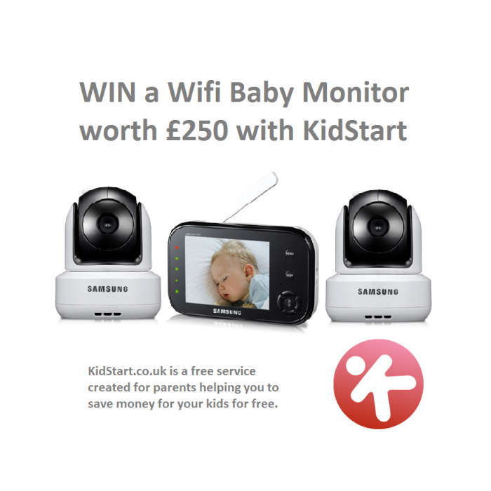 win a wifi video baby monitor with two cameras worth 250 with kidstart. Black Bedroom Furniture Sets. Home Design Ideas