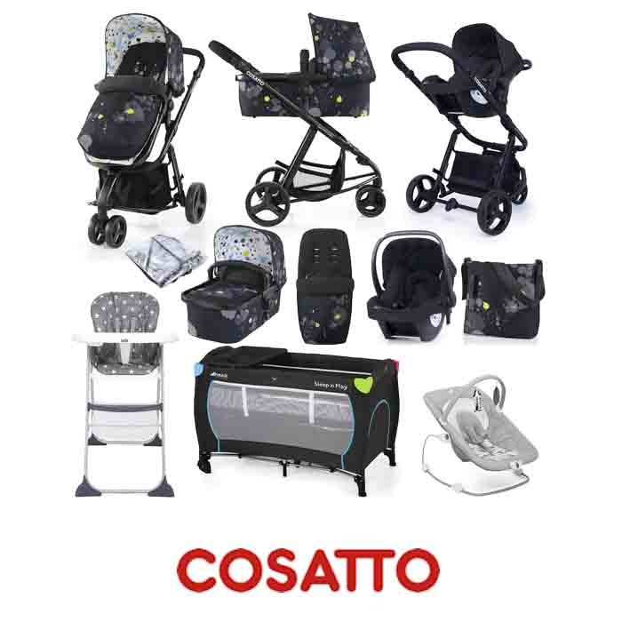 Cosatto Giggle 2 (Hold) Everything You Need Travel System Bundle