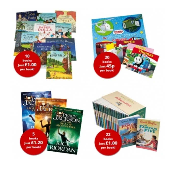 The Book People- christmas collections