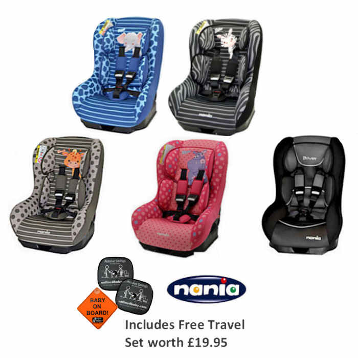 Nania Driver 5 with travel pack