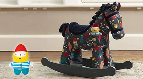 Precious Little One Rocket and Bud Rocking Horse