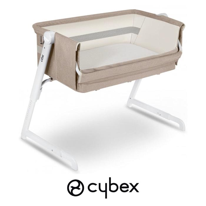 Cybex CBX Hubble Air Side Sleeping Bedside Crib - Dreamy Beige