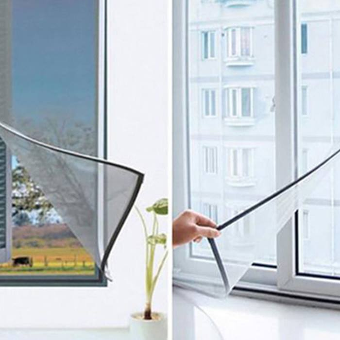 Removable Velcro Fly Screen