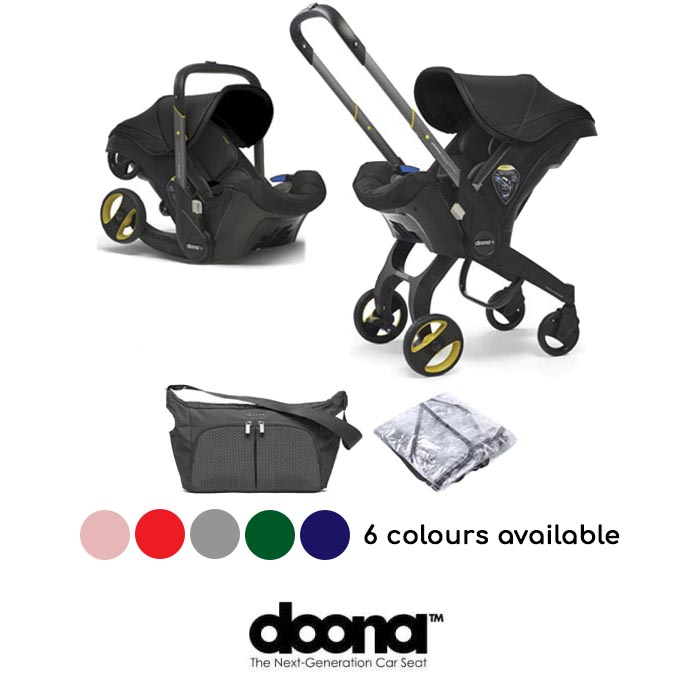 Doona Infant Car Seat Stroller With Free Raincover Changing Bag1