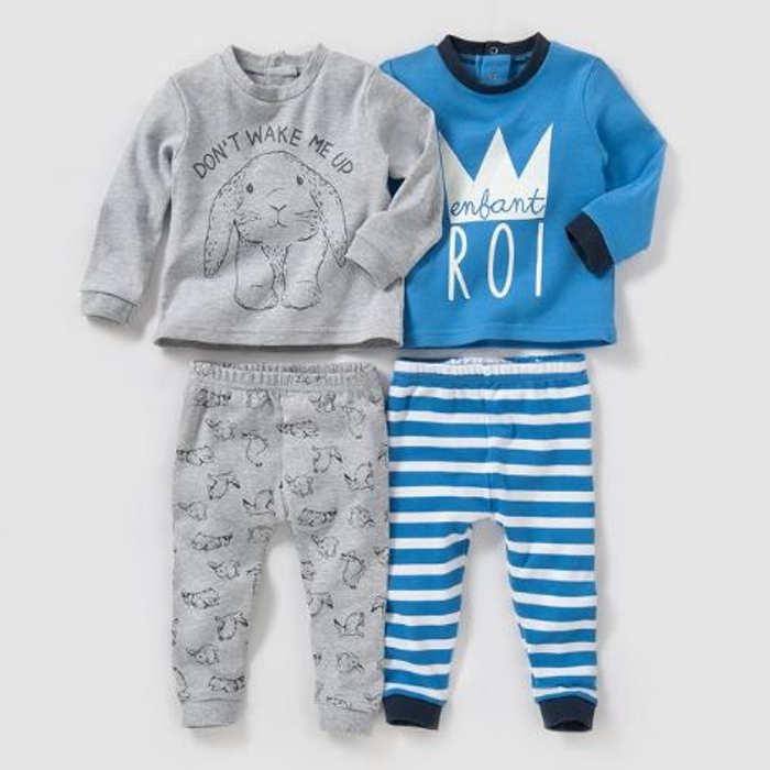 Pack of 2 Cotton Pyjamas