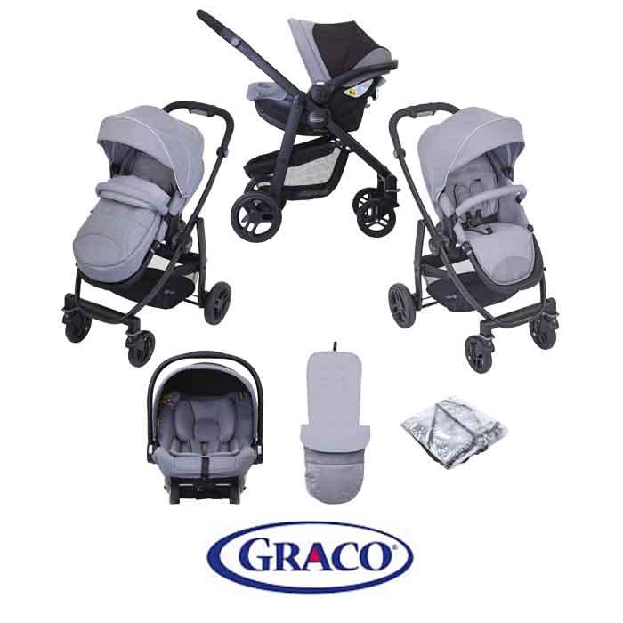 Graco Evo (SnugEssentials Car Seat) Travel System