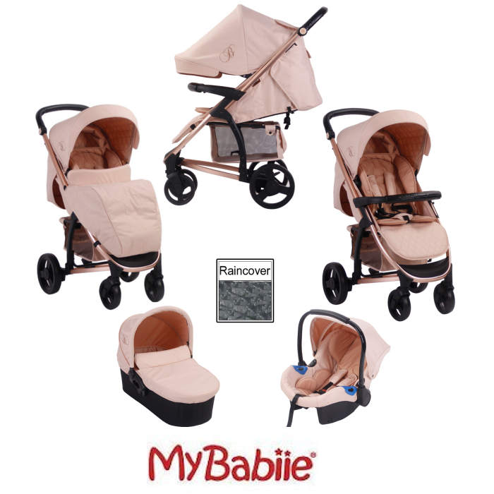 My Babiie MB200+ *Billie Faiers Collection* Travel System & Carrycot
