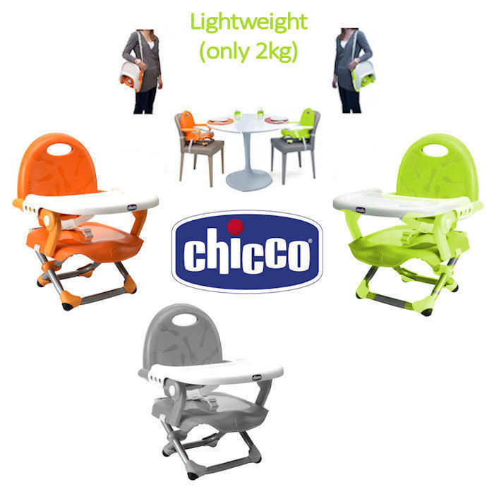 Chicco Pocket Snack Booster Seat With 3 Height Positions