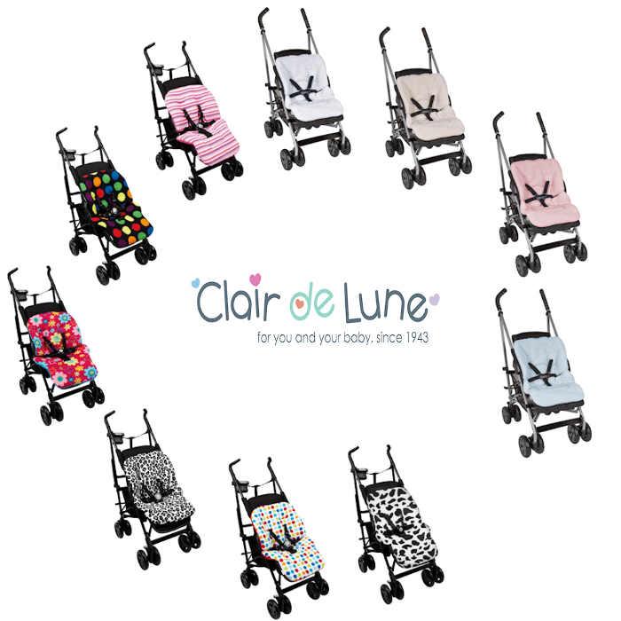 Clair De Lune Pushchair Liners