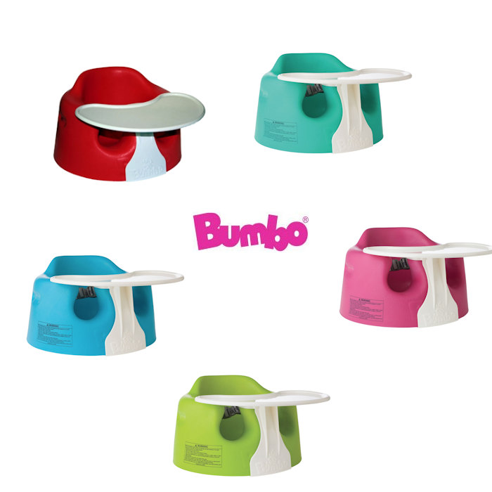 Bumbo Combo Floor Seat  Play Tray  Blue