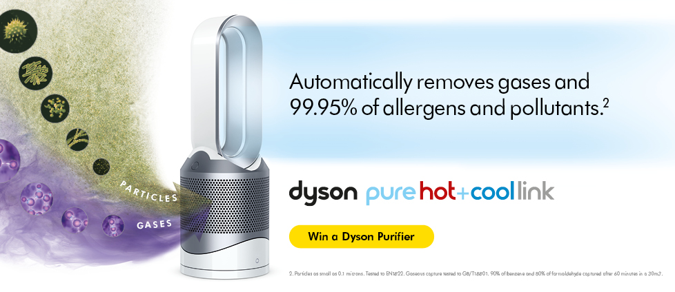 Win a Dyson Purifier