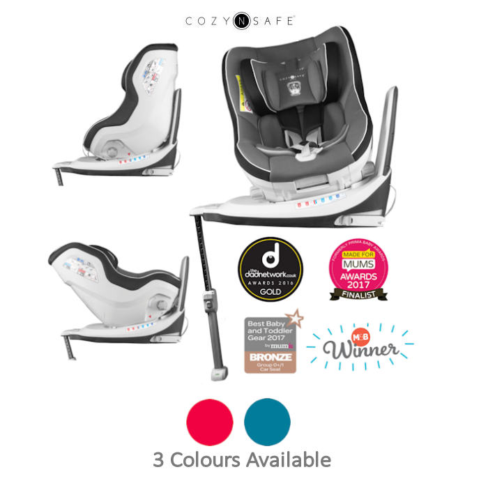 Cozy N Safe Merlin 360 Group 01 Isofix Car Seat