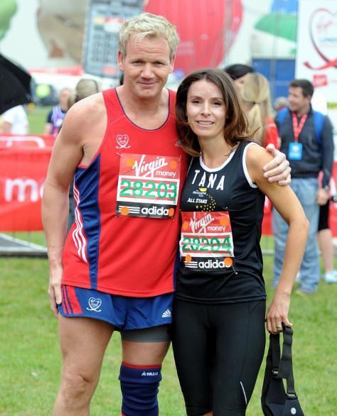 Gordon and Tana Ramsey