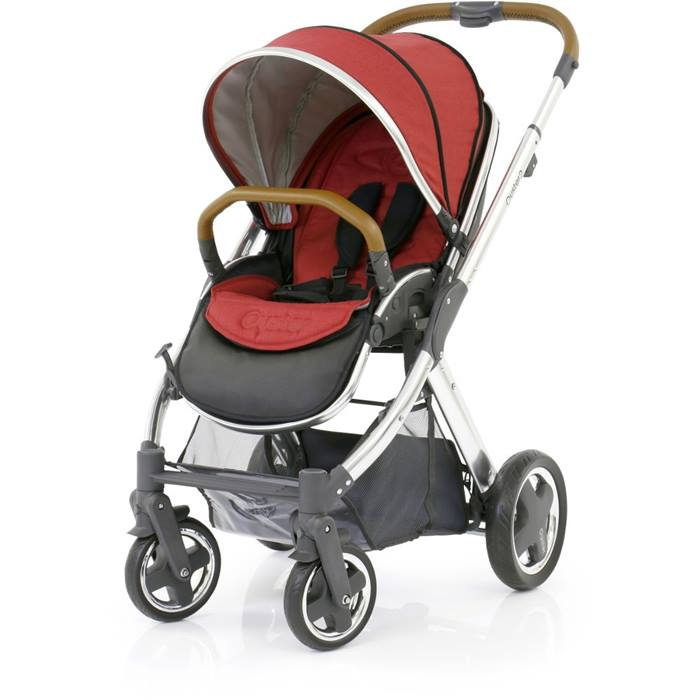 BabyStyle Oyster 2 Mirror Stroller Tan Handle