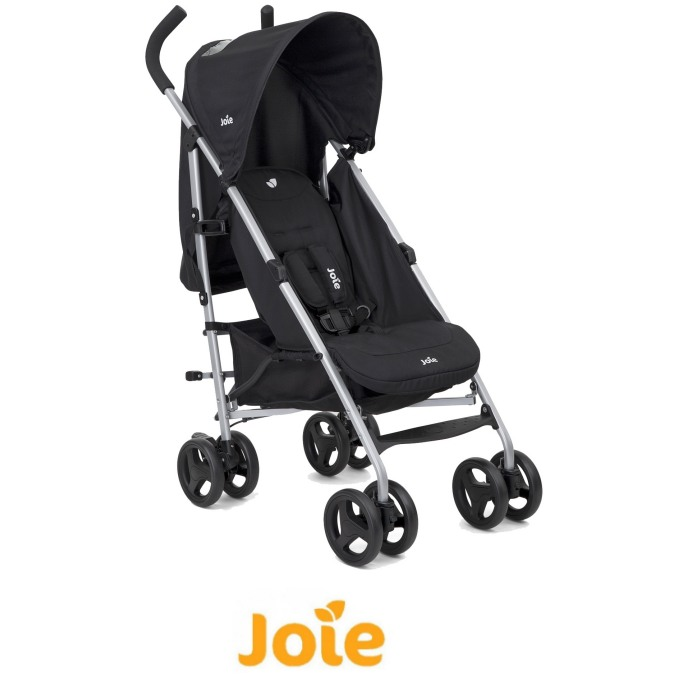 Joie Nitro Pushchair Stroller with Raincover - Coal