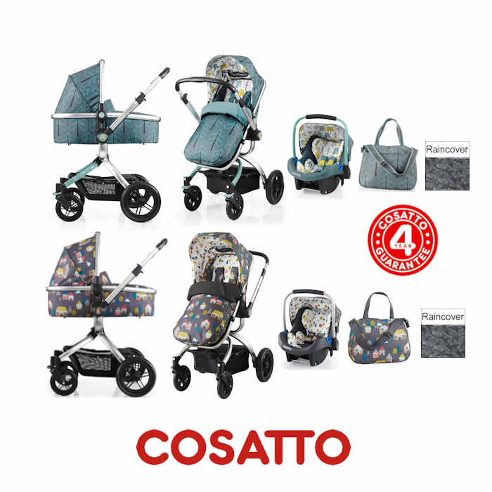 Cosatto Ooba 3 in 1 Combi Travel System
