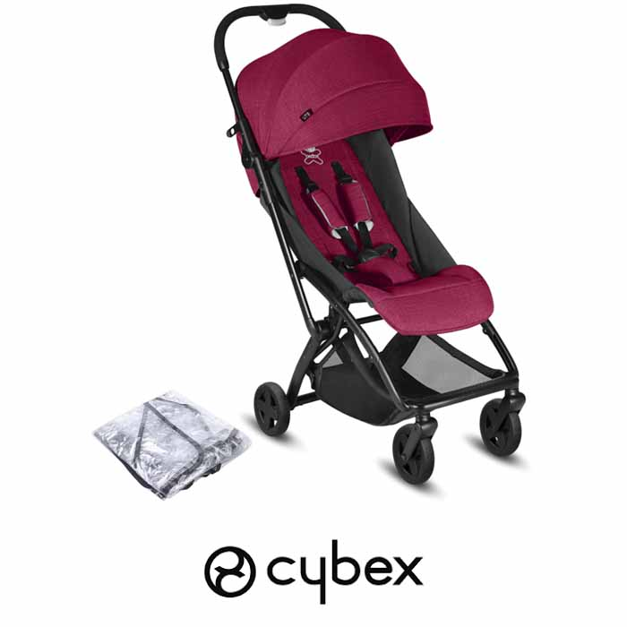 Cybex CBX Etu Pushchair Stroller - Crunch Red