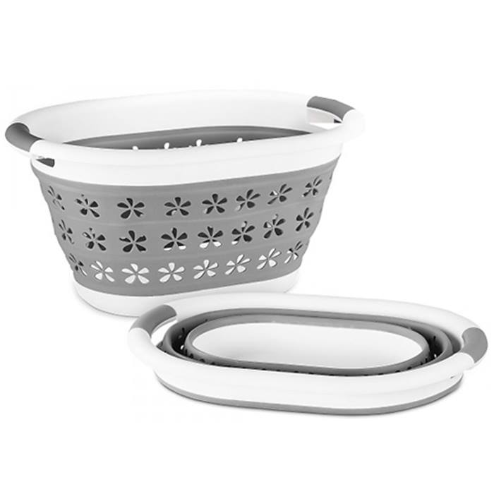 Collapsible Laundry Basket - 2 Designs