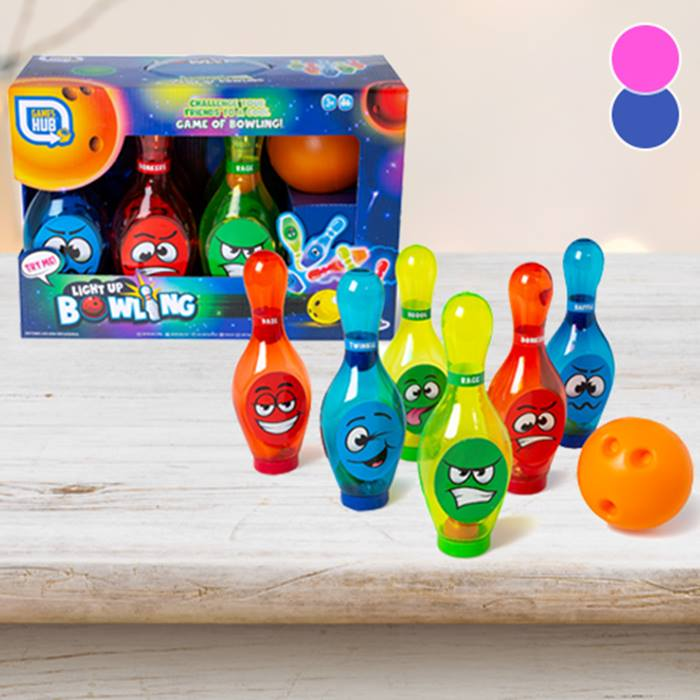 Kids' Light-Up Bowling Skittles - 2 Colours