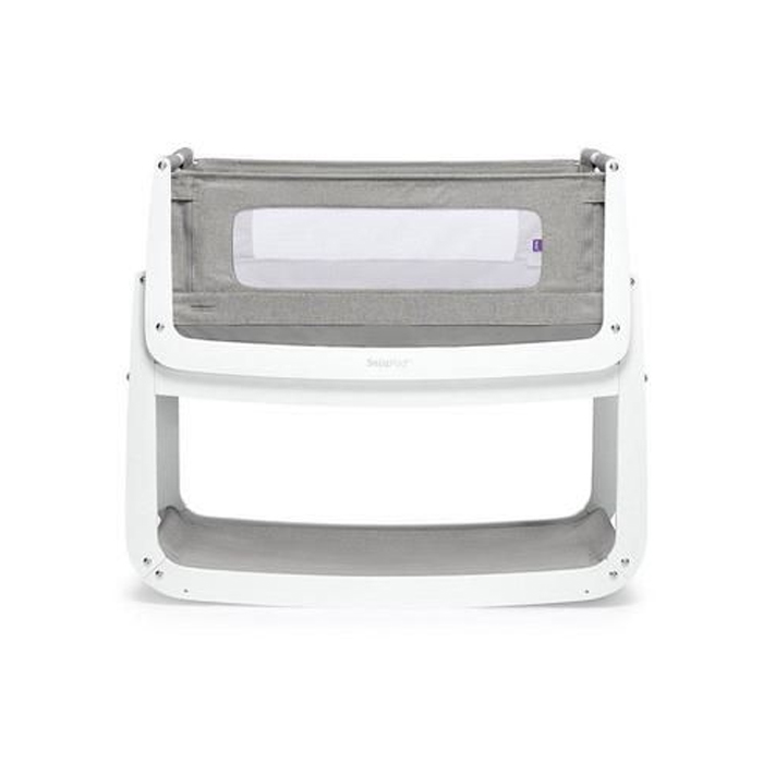 Snuzpod4 Crib and Mattress - Dusk Grey