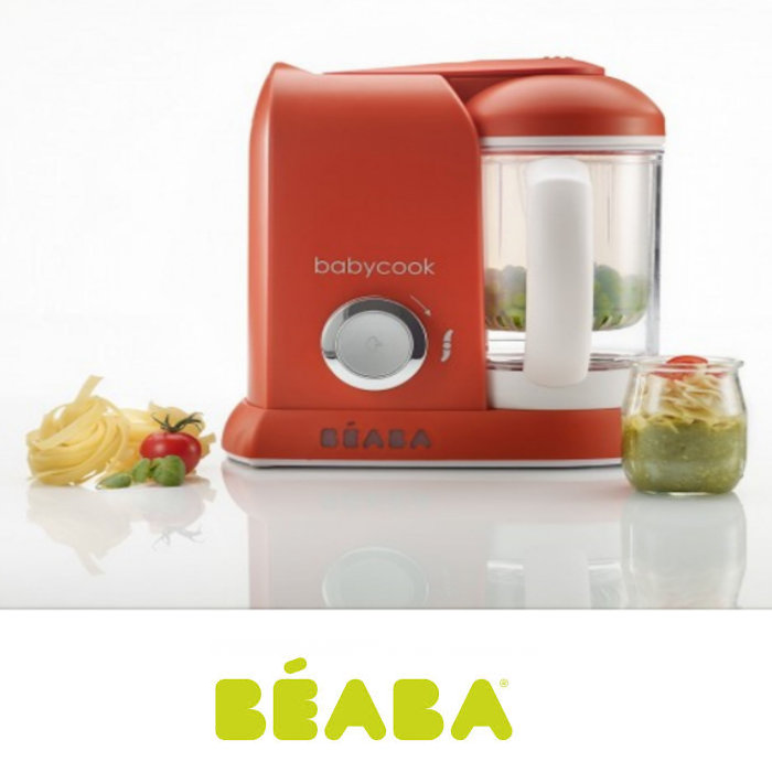 Beaba Babycook Solo 4-in-1 Baby Food Maker & Food Processor