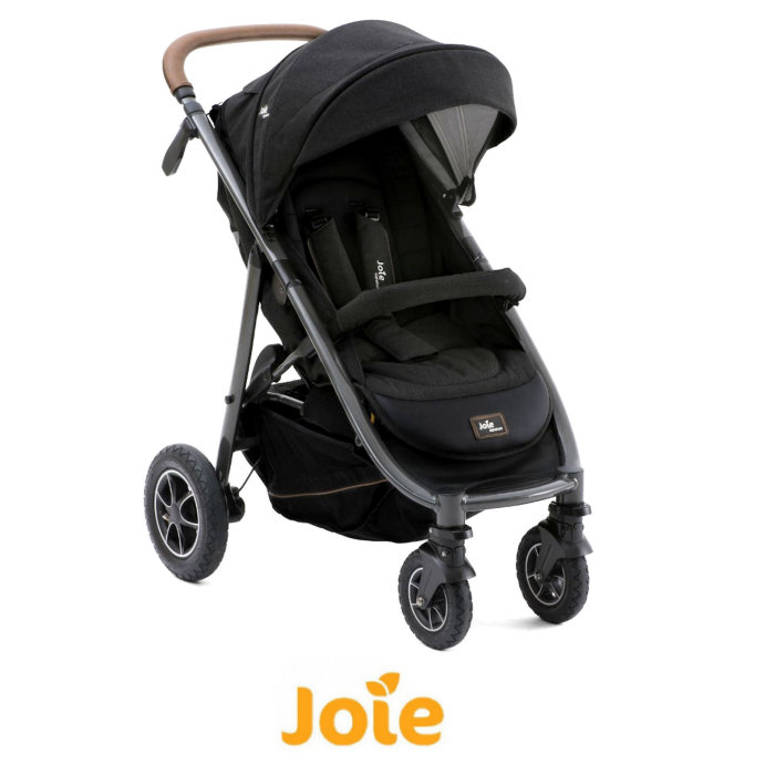 Joie Limited Edition MyTrax Flex Pushchair Stroller - Signature Noir