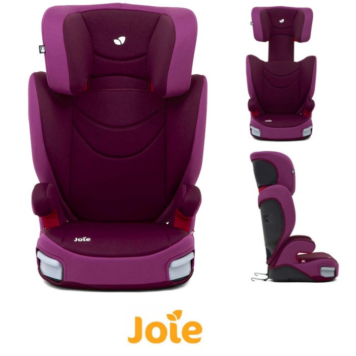 Joie Trillo Group 2,3 Booster Car Seat - Dahlia