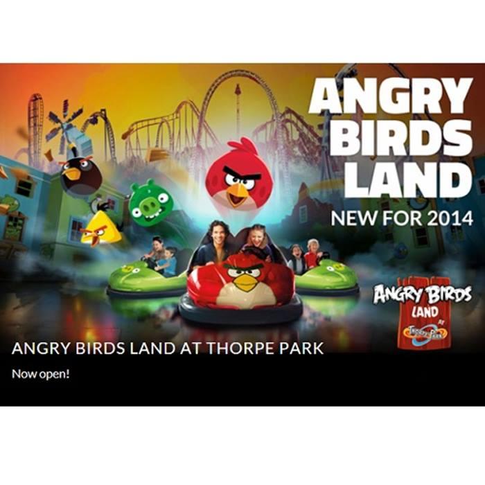 Thorpe Park Angry Birds Land
