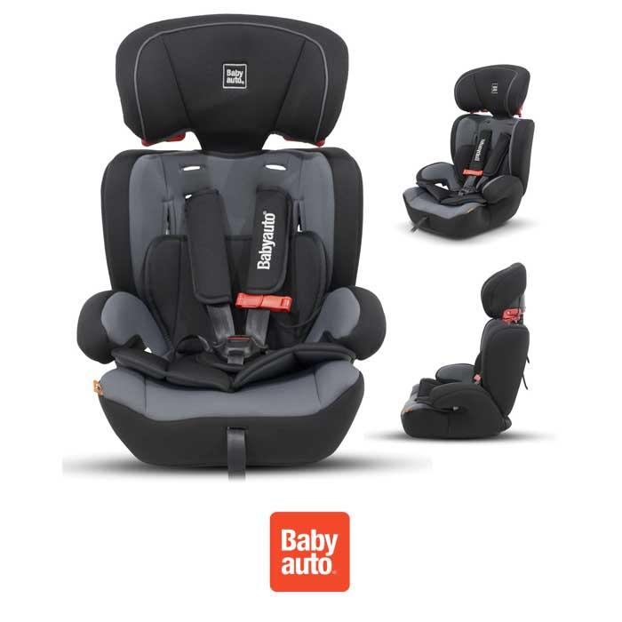 Babyauto Konar Trio Every Stage Group 123 Car Seat - Black Grey