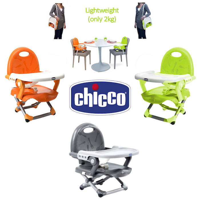 Chicco Pocket Snack Booster Seat With -  dark grey