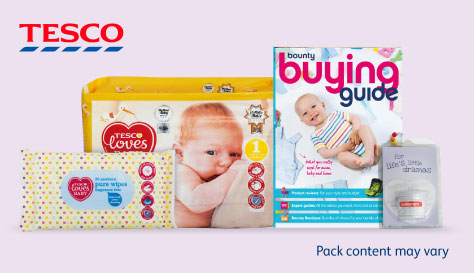 Tesco Bounty Mum-to-be pack