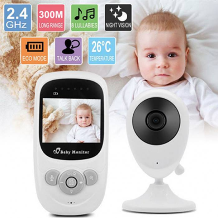 Wireless Colour Video Baby Monitor