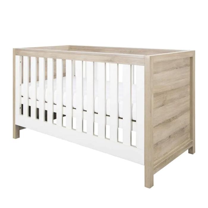 Tutti Bambini Modena Cot Bed - Oak