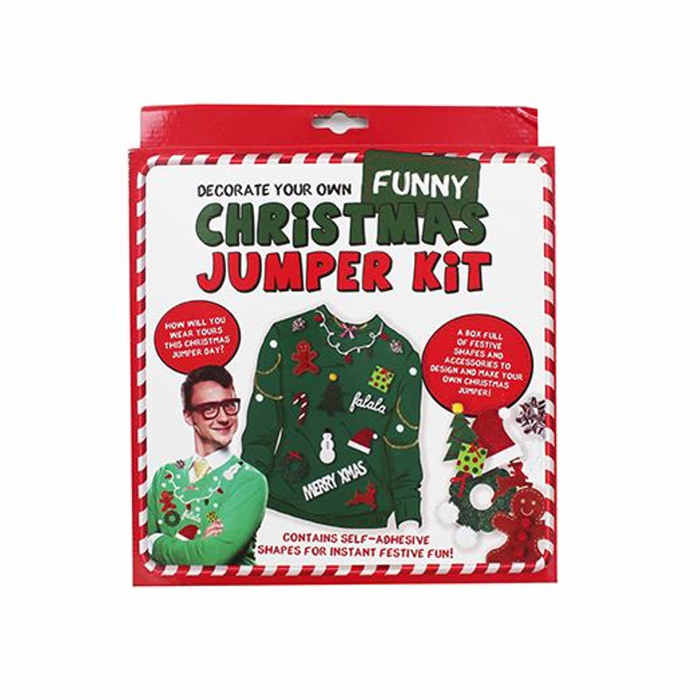 Decorate your own jumper kit
