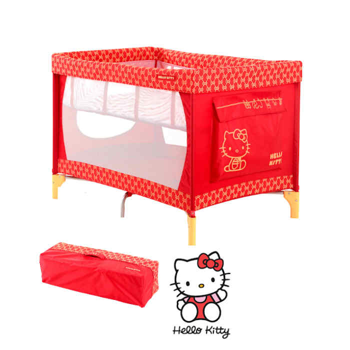 My Child Hello Kitty Travel Cot