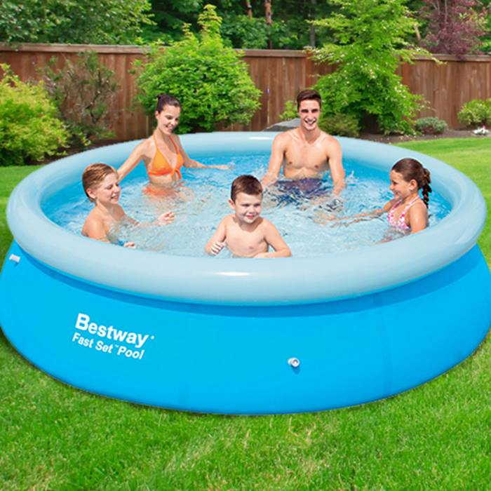 6ft, 8ft or 10ft Family Swimming Pools by Bestway & Intex