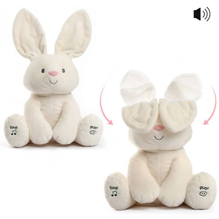 Peek-a-Boo Bunny Toy - 1 or 2