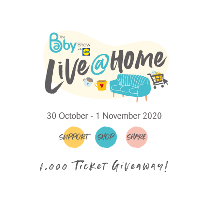 1, 000 ticket giveaway to The Baby Show Live @ Home!