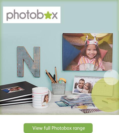View full Photobox range