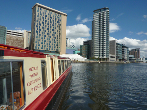 Manchester city centre cruises